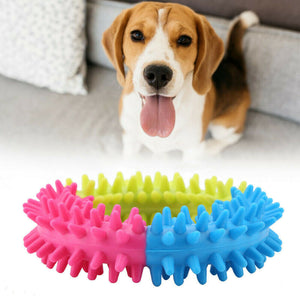 Pet Puppy Dog Chew Toy Durable Ring Molar Clean Teeth
