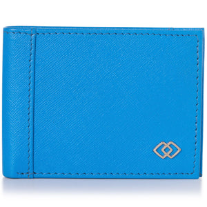 Double Diamond Mens RFID Slimfold Wallet Thin Leather Bifold picktookshop.myshopify.com [sale] [online]