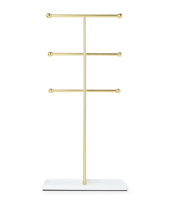 HANGING JEWELRY ORGANIZER – 3 TIER EXTRA TALL TABLETOP JEWELRY HOLDER