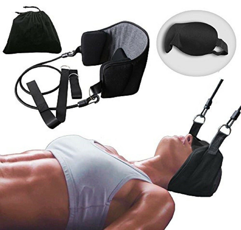 Head Hammock for Neck & Headaches Pain Relief Cervical Traction Stretcher