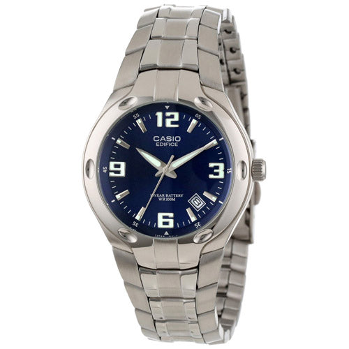 Men's Blue Dial, 10-Year Battery Watch picktookshop.myshopify.com [sale] [online]