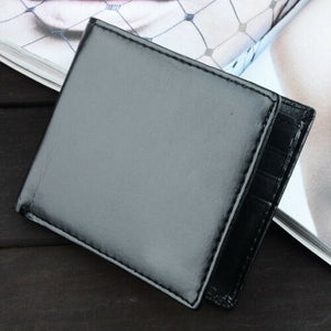 Mens Bifold Wallet Leather Money Purse Credit Card ID Card Holder Slim Clutch US