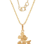 Mickey Mouse Pendant Necklace with Gold-Filled Chain picktookshop.myshopify.com [gogle] [sale] [online]