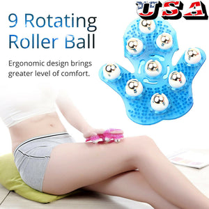 Palm Shaped Ball Roller Body Massager Feels Amazing