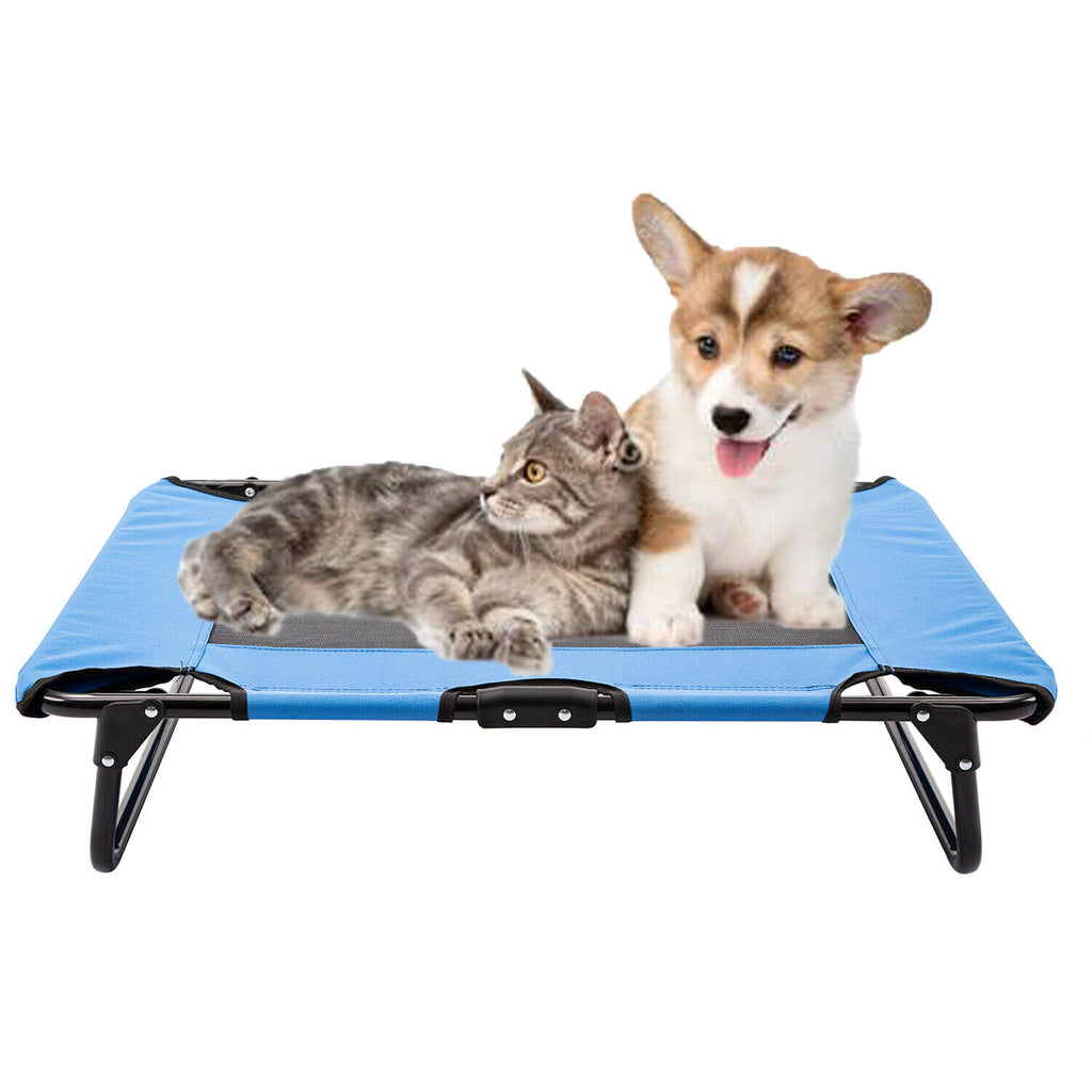 Pet Elevated Cot Dog Bed Folding