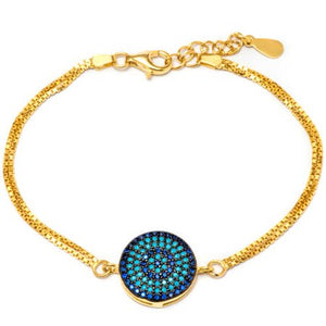 BRACELET WITH SAPPHIRE AND NANO TURQUOISE STONES picktookshop.myshopify.com [gogle] [sale] [online]