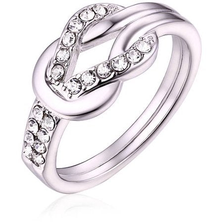 Swarovski Elements 18kt White Gold-Tone Ring picktookshop.myshopify.com [gogle] [sale] [online]