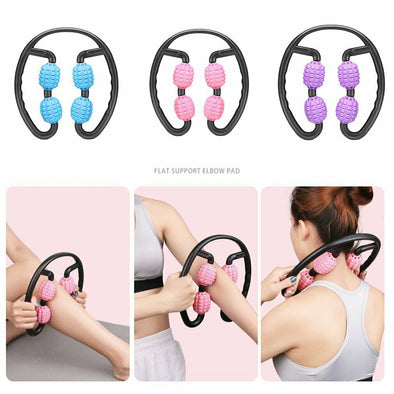 Trigger Point Roller Massager Arm Leg Tissue Muscle Relaxer Fitness Workout Yoga picktookshop.myshopify.com [sale] [online]