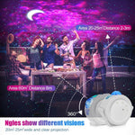 WIFI Remote LED Starry Sky Projector Light Ocean Wave Star Sky Galaxy Night Lamp