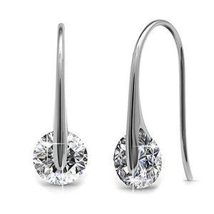 WONDROUS 18K WHITE GOLD EARRINGS BEST SILVER EARRINGS FOR WOMEN picktookshop.myshopify.com [gogle] [sale] [online]