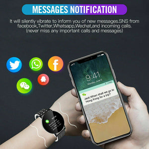 Waterproof Smart Watch Heart Rate Monitor Sport Fitness Tracker For iOS Android