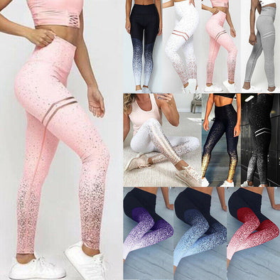 Women Yoga Leggings Fitness Sports Exercise Running Gym Jogging Pants Trousers picktookshop.myshopify.com [sale] [online]