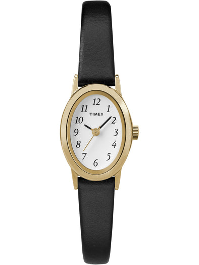 Women's Cavatina Black Leather Strap Watch picktookshop.myshopify.com [sale] [online]