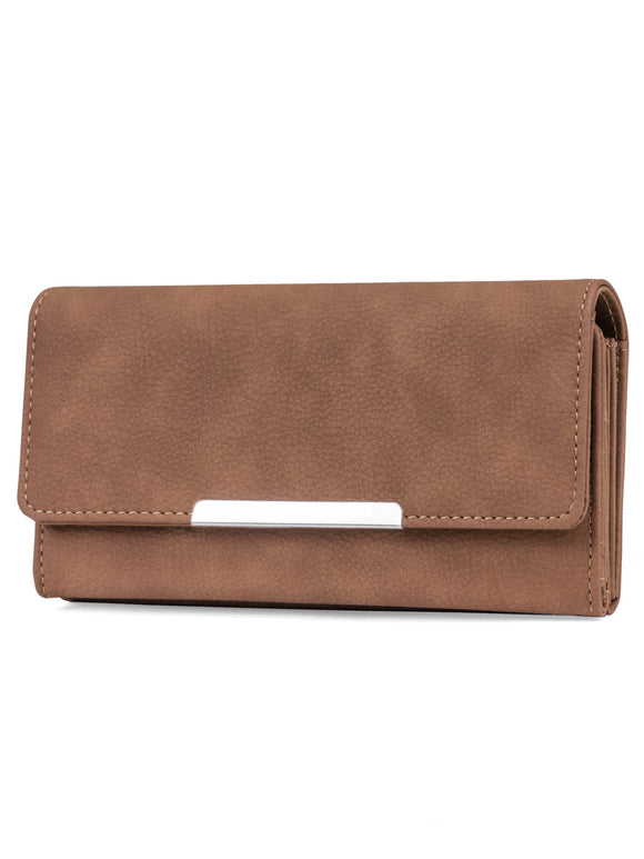 File Master Womens RFID Blocking Wallet Clutch Organizer With Change Pocket picktookshop.myshopify.com [sale] [online]