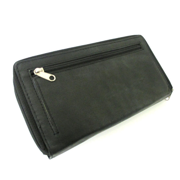 WOMEN LEATHER WALLET CHECKBOOK LADY ZIPPER CLUTCH picktookshop.myshopify.com [gogle] [sale] [online]