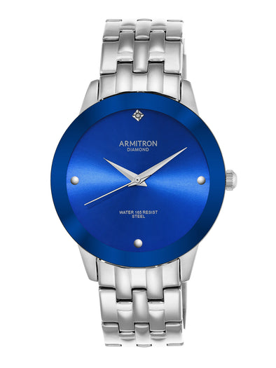 MEN'S SHOWCASE DRESS WATCH Black Dial,Blue Dial, METAL BAND picktookshop.myshopify.com [gogle] [sale] [online]
