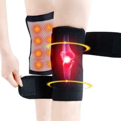 Self Heating Magnetic Knee Brace Support Pad Thermal Therapy Arthritis Protector picktookshop.myshopify.com [sale] [online]