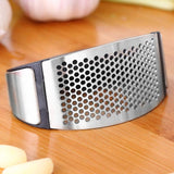 Stainless Steel Garlic Presses Manual  Curve Fruit Vegetable Tools Kitchen Gadgets