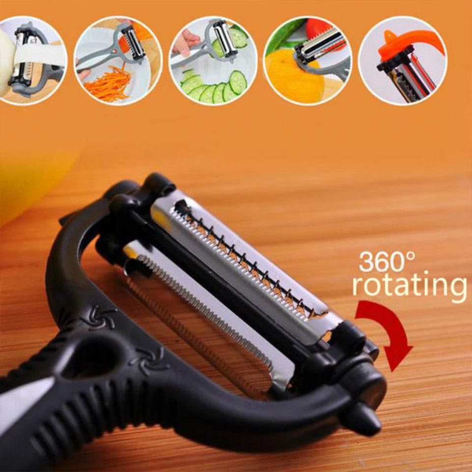 Rotary Vegetable Peeler Cabbage Grater Potato Slicer Cutter Fruit Knife Kitchen Gadget