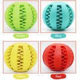 New Pet Dog Toys Toy Funny Interactive Elasticity Ball Dog Chew Toy