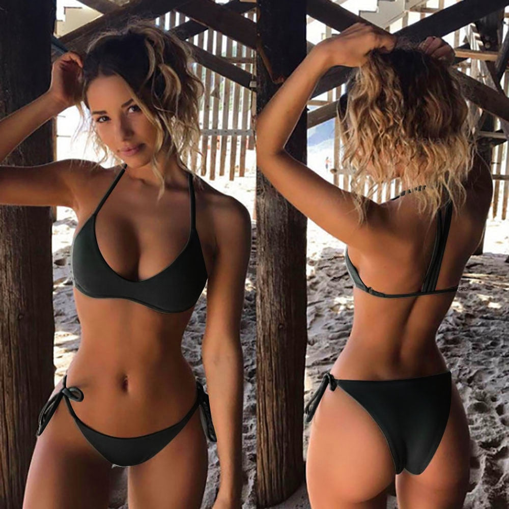 Sexy Bikini Set 2020 New Women Swimwear Push Up Swimsuit