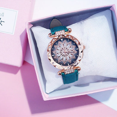 Women Starry Sky Luxury Rose Gold Diamond Watch picktookshop.myshopify.com [sale] [online]