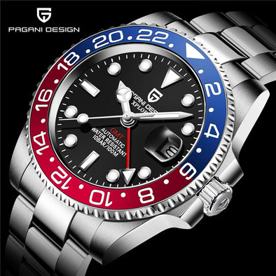 Sapphire Glass watch 40MM Ceramic Automatic Watch picktookshop.myshopify.com [sale] [online]