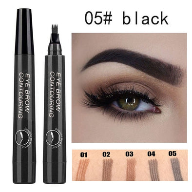 Waterproof Natural Eyebrow Pen Four-claw Eye Brow picktookshop.myshopify.com [sale] [online]
