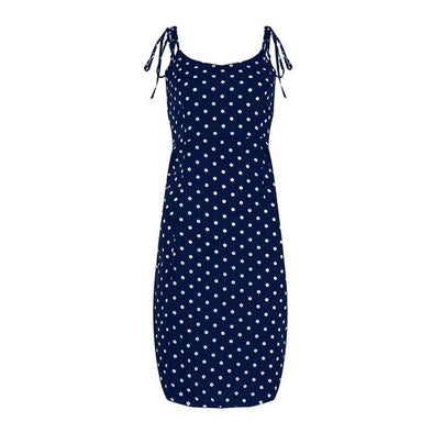 2021 Summer Women Causal Polka Dot Dress