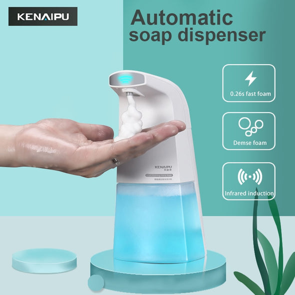 Liquid Hand Washing Machine intelligent foam Touchless Infrared Sensor
