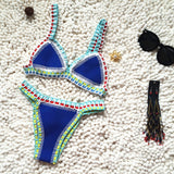 Bikini 2020 Women Handmade Crochet Knit Swimwear
