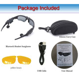 NEW Bluetooth Sun Glasses Wireless Headset Sport With Microphone