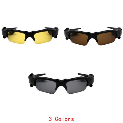 New Fashion Bluetooth Wireless Sunglasses Headset Outdoor Sport With Microphone For Smart Phones