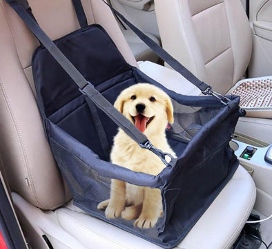Travel Dog Car Seat Cover Folding Hammock Pet Carriers Bag