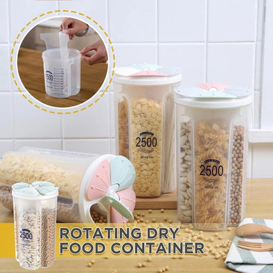 Cereal Dispenser Storage Box Kitchen Food Grain Rice Container