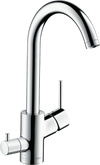 Hansgrohe Talis M52 Single Lever Kitchen Mixer 270 | 73866000