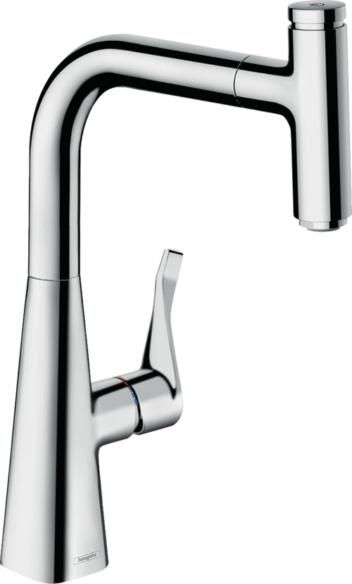 Hansgrohe Metris Select M71 Single Lever Kitchen Mixer 240 | 73802000