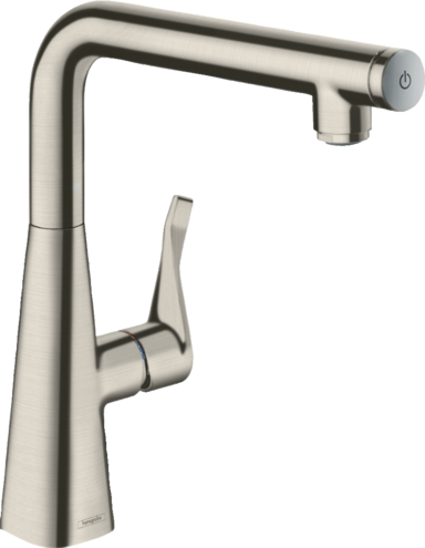 Hansgrohe Metris Select M71 Single Lever Kitchen Mixer 260 | 14847000