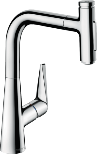 Hansgrohe Talis Select M51 Single Lever Kitchen Mixer 220 | 73868000