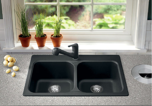 BLANCO VISION 210 Granite composite sink in  SILGRANIT®