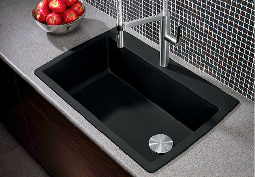 BLANCO DIAMOND SUPER SINGLE Granite composite sink in  SILGRANIT®