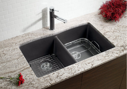 BLANCO DIAMOND U 2 Granite composite sink in  SILGRANIT®