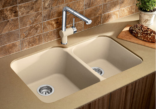 BLANCO VISION U 1 3/4 Granite composite sink in  SILGRANIT®