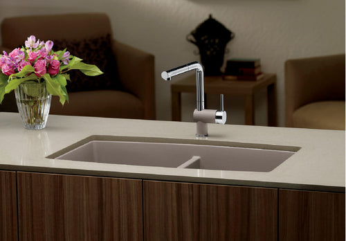 BLANCO PERFORMA U 2 Granite composite sink in  SILGRANIT®