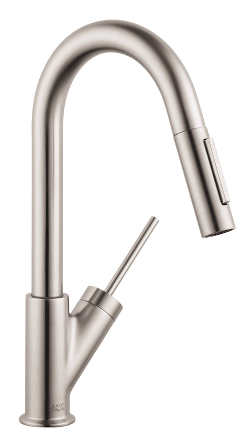 AXOR Starck Prep Kitchen Faucet 2-Spray Pull-Down, 1.75 GPM