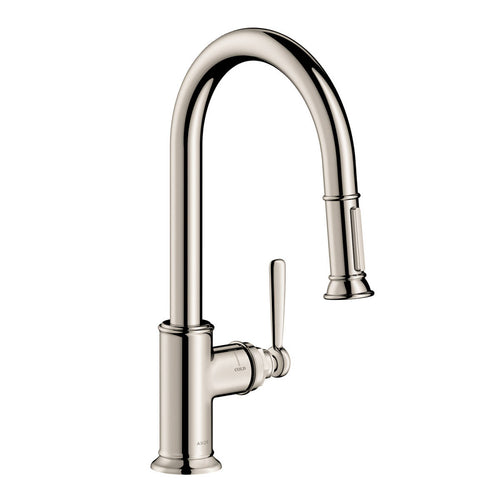 AXOR Montreux HighArc Kitchen Faucet 2-Spray Pull-Down, 1.75 GPM