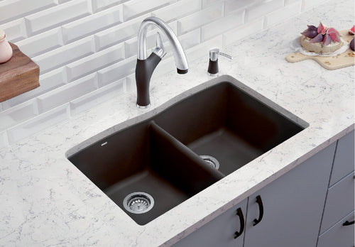 BLANCO DIAMOND 210 Granite composite sink in  SILGRANIT®