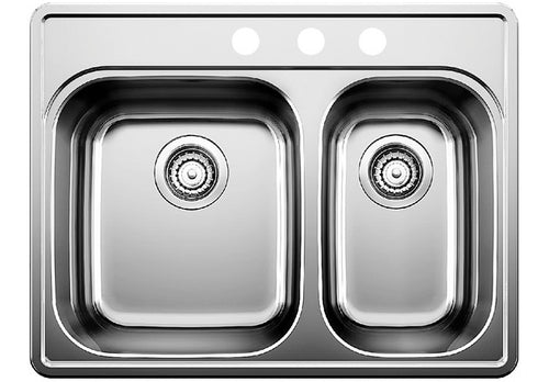 BLANCO ESSENTIAL 1 1/2 (3 Hole) Stainless Steel sink