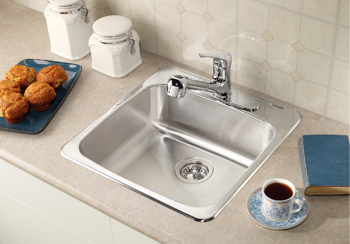 BLANCO HORIZON 1.0 - 8'' (1 hole) Stainless Steel sink