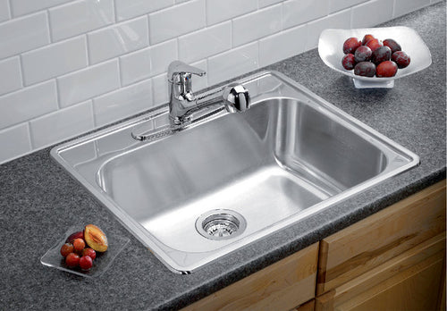 BLANCO ESSENTIAL 1 (3 Hole) Stainless Steel sink